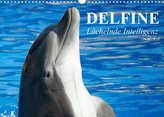 Delfine - Lächelnde Intelligenz (Wandkalender 2022 DIN A3 quer)