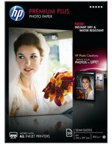 HP Premium Plus Semi-gloss Photo Paper, 20 listů/A4/210 x 297 mm