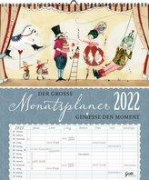 Auf Reisen Großer Monatsplaner 2022