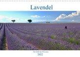 Lavendel. Der Duft der Provence (Wandkalender 2022 DIN A3 quer)