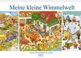 Meine kleine Wimmelwelt (Wandkalender 2022 DIN A3 quer)