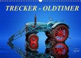 Trecker - Oldtimer (Wandkalender 2022 DIN A3 quer)