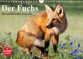 Der Fuchs. Bezaubernder Geselle (Wandkalender 2022 DIN A4 quer)