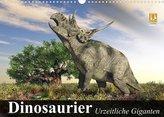 Dinosaurier. Urzeitliche Giganten (Wandkalender 2022 DIN A3 quer)