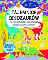 Tajemnice dinozaurów - książka z naklejkami