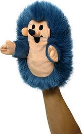 Ježek 23cm maňásek - modrý (Krtek a kamarádi)