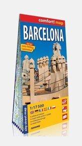Comfort! map Barcelona 1:17 500 w.2021
