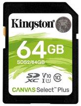 KINGSTON Canvas Select Plus 64GB SDXC / UHS-I / CL10