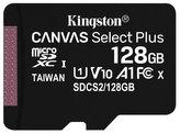 KINGSTON Canvas Select Plus 128GB microSD / UHS-I / CL10 / bez adaptéru