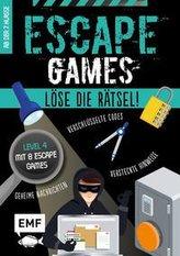 Escape Games Level 4 (türkis) - Löse die Rätsel! - 8 Escape Games ab der 7. Klasse