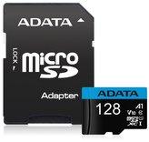 ADATA Premier 128GB microSDXC / UHS-I CLASS10 / + adaptér