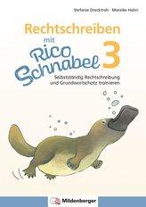 Rechtschreiben mit Rico Schnabel, Klasse 3