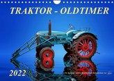 Traktor - OldtimerAT-Version  (Wandkalender 2022 DIN A4 quer)