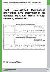 Track Data-Oriented Maintenance Intervention Limit Determination for Ballasted Light Rail Tracks through Multibody Simulations