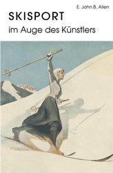 Skisport im Auge des Künstlers