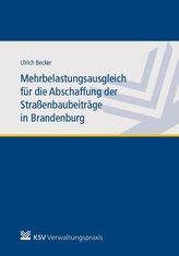Mehrbelastungsausgleich für die Abschaffung der Straßenbaubeiträge in Brandenburg