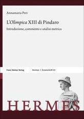 "L\'\""Olimpica\"" XIII di Pindaro"