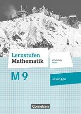 Lernstufen Mathematik 9. Jahrgangsstufe - Mittelschule Bayern - Lösungen zum Schülerbuch