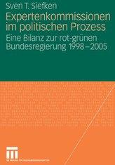 Expertenkommissionen im politischen Prozess