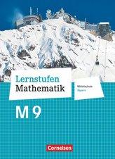 Lernstufen Mathematik 9. Jahrgangsstufe - Mittelschule Bayern - Schülerbuch