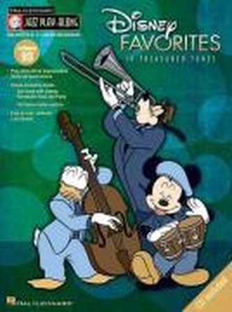 Disney Favorites: 10 Treasured Tunes [With CD (Audio)]