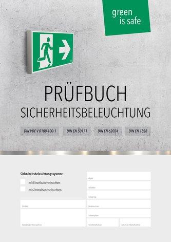Prüfbuch für Sicherheitsbeleuchtungssysteme