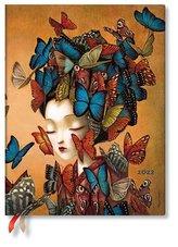 Madame Butterfly 12-Monatskalender Flexi 2022 Ultra Vertikal