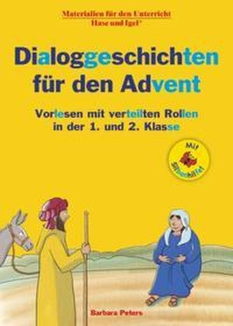 Dialoggeschichten für den Advent / Silbenhilfe