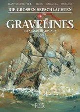Die Großen Seeschlachten / Gravelines - Die spanische Armada 1588