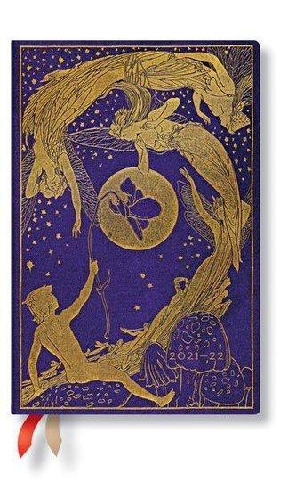 Violet Fairy 18-Monatskalender 2022 Mini Horizontal