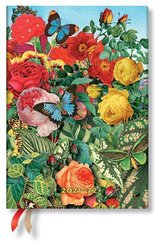 Schmetterlingsgarten 18-Monatskalender Flexi 2022 Midi Horizontal