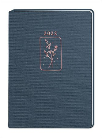 """Terminplaner NatureArt \""""Blumen\"""" 2022"""
