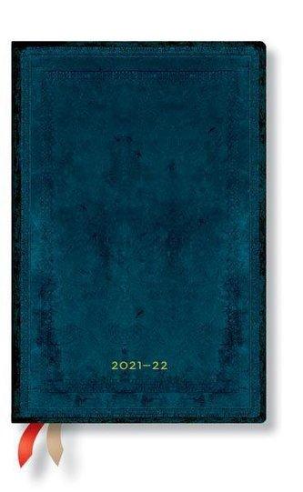 Calypso Schlicht 18-Monatskalender 2022 Mini Horizontal