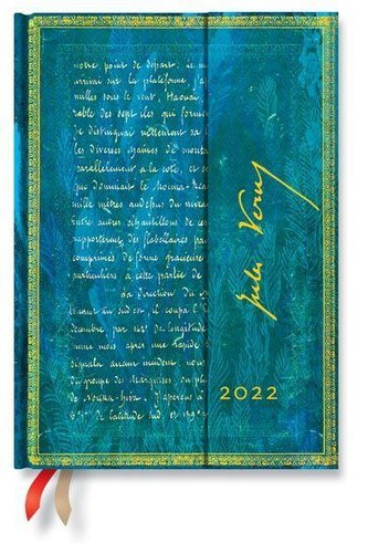 Verne, 20.000 Meilen 12-Monatskalender 2022 Midi Horizontal
