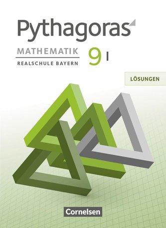 Pythagoras 9. Jahrgangsstufe (WPF I) - Realschule Bayern - Lösungen zum Schülerbuch