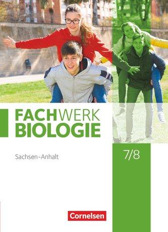 Fachwerk Biologie 7./8. Schuljahr. Sachsen-Anhalt 2020 - Schülerbuch