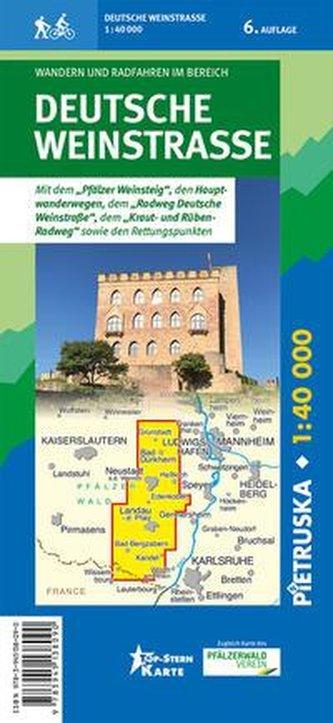 Deutsche Weinstraße 1:40.000