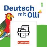 Deutsch mit Olli Erstlesen. 1. Schuljahr - Arbeitsheft Start und Leicht / Basis in Grundschrift