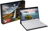 Island Tischkalender 2022