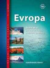 Evropa - Školní atlas pro ZŠ a víceletá gymnázia
