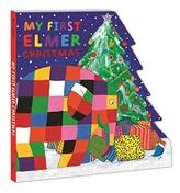 My First Elmer Christmas (Board Book)
