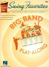 Swing Favorites: Piano: Instrumental Play-Along Book/CD Pack [With CD]