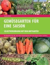 Gemüsegarten für eine Saison