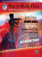 Pop & Rock Hits Instrumental Solos, Viola (Removable Part)/Piano Accompaniment: Level 2-3 [With CD (Audio)]