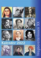 "Kombi aus \""Kalender 2022 Wegbereiterinnen XX\"" (ISBN 9783945959565) und \""Postkartenset Wegbereiterinnen XX\"" (ISBN 9783945959558)"
