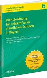 Dienstordnung für Lehrkräfte an staatlichen Schulen in Bayern