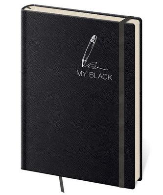 Zápisník My Black - tečkovaný L