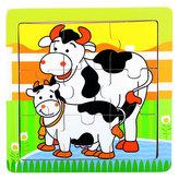 Puzzle kravičky