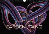 Farben Tanz Abstract Design (Wandkalender 2022 DIN A4 quer)