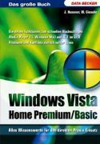 Das Große Buch Win Vista Home Bas/Premium